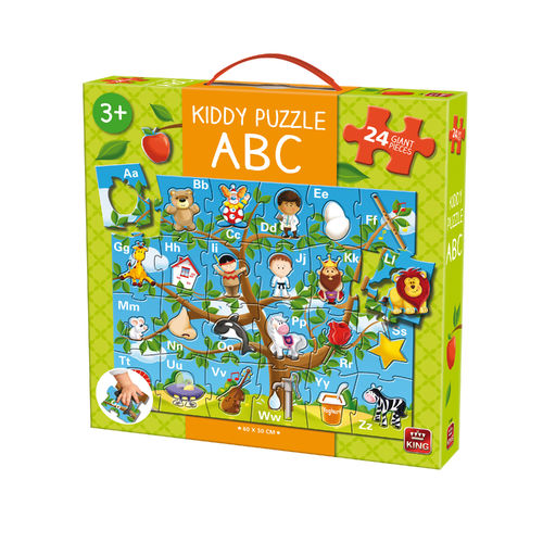 Kiddy Boden-Puzzle ``ABC``