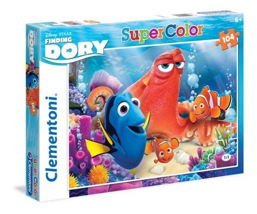 Clementoni - Super Color Puzzle - Finding Dory