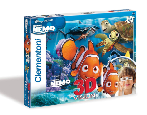 Clementoni - 3D Version Puzzle - Finding Nemo