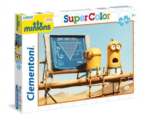 Clementoni - Super Color Puzzle - Minions
