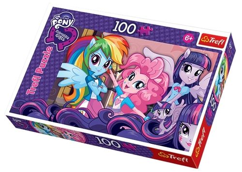 Trefl - My little Pony, Equestria Girls - 100 Teile Puzzle