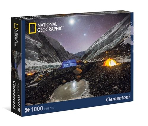 Clementoni - National Geographic: Everest Camp - 1000 Teile