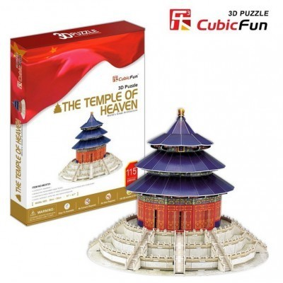 CubicFun 3D-Puzzle - The Temple of Heaven, Peking/China