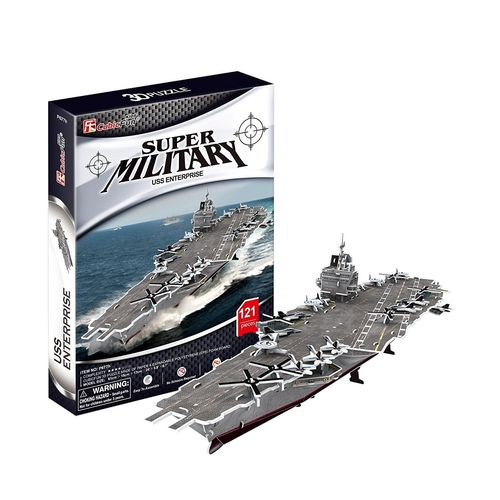CubicFun 3D-Puzzle - Super Military - USS Enterprise