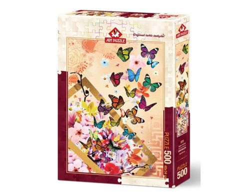 Art Puzzle - Schmetterlinge (Spring Breeze) - 500 Teile