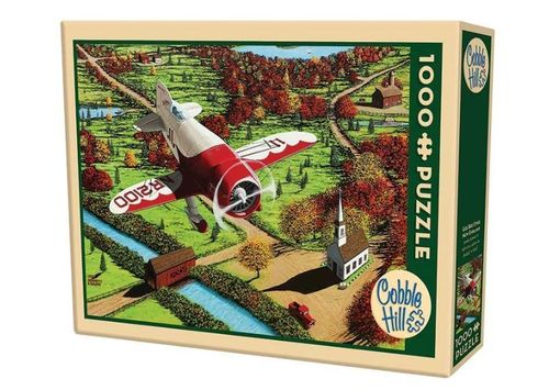Cobble Hill - Gee Bee over new England - 1000 Teile