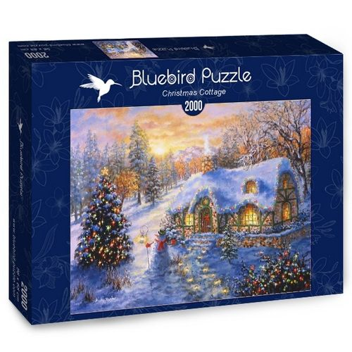 Bluebird - Christmas Cottage - 2000 Teile