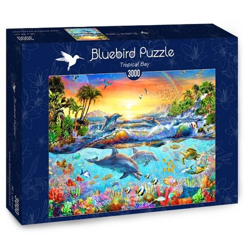 Bluebird - Tropical Bay - 3000 Teile