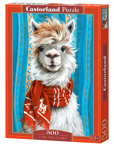 Castorland - I am the Llama - 500 Teile Puzzle
