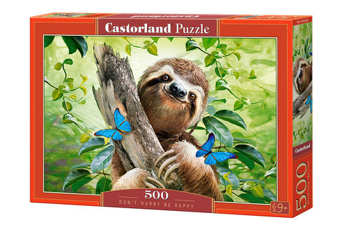 Castorland - Don't hurry be happy - 500 Teile Puzzle