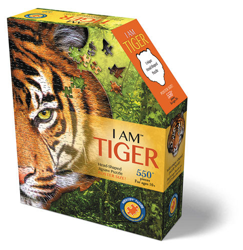 Madd Capp - Tiger - Formpuzzle - 586 Teile