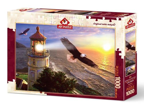 Art Puzzle - High Flight at the Sun Rise - 1000 Teile