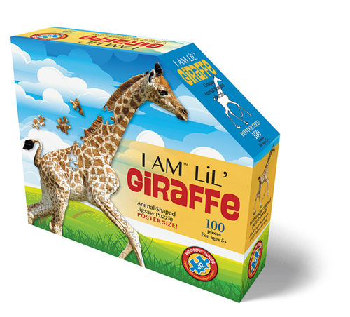Madd Capp - Giraffe - Formpuzzle - 100 Teile