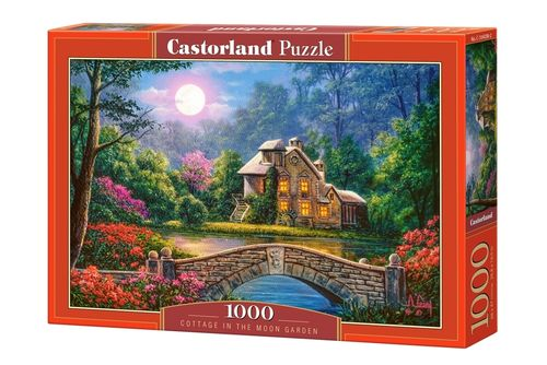 Castorland - Cottage in the Moon Garden - 1000 Teile