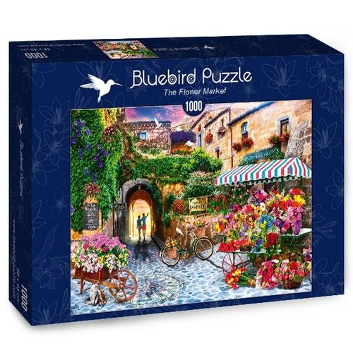 Bluebird - The Flower Market - 1000 Teile