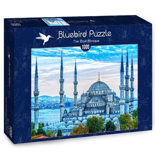 Bluebird - The Blue Mosque - 1000 Teile