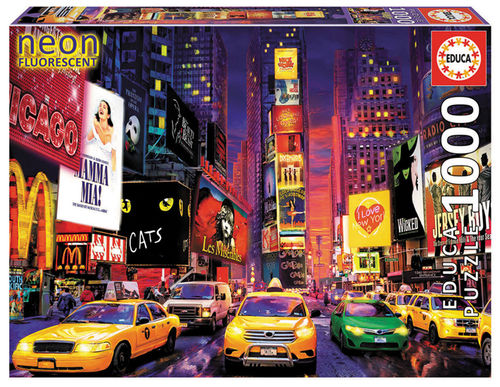 Educa - Times Square, New York (Neon) - 1000 Teile