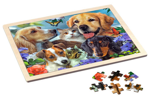 Philos - Togetherness - 48 Teile - Holzpuzzle