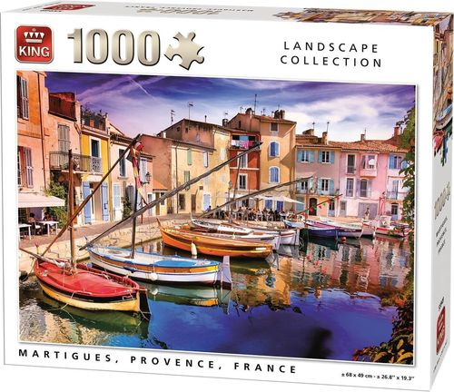 King - Martigues, Provence, France - 1000 Teile