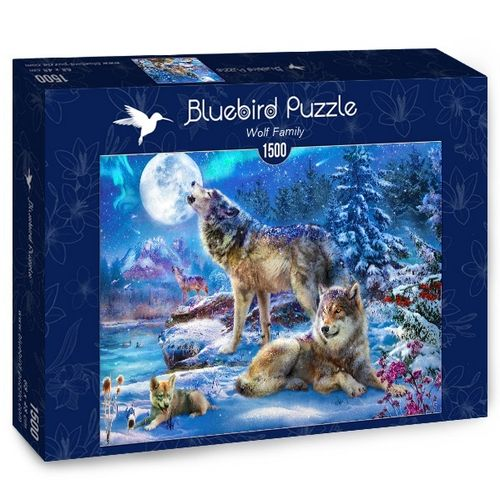 Bluebird - Winter Wolf Family - 1500 Teile