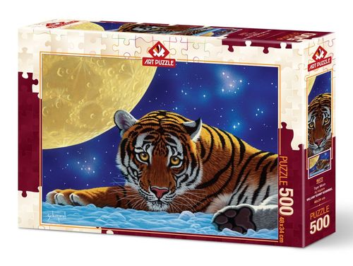 Art Puzzle - Tiger Moon - 500 Teile