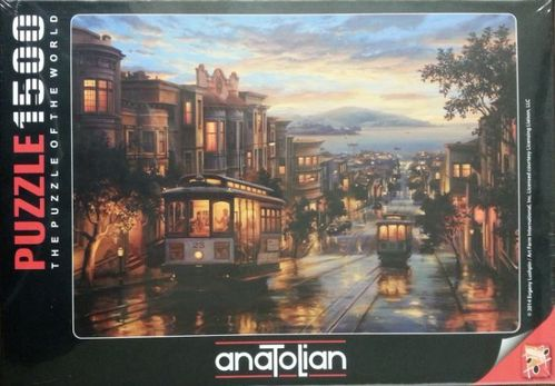 Anatolian - San Francisco Cable Car Heaven - 1500 Teile