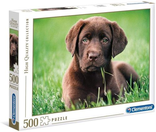 Clementoni - Chocolate Puppy - 500 Teile