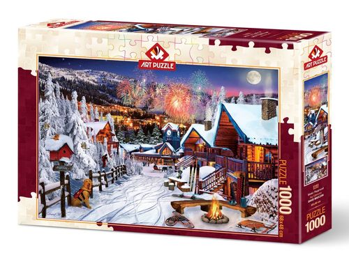 Art Puzzle - Winter Playground - 1000 Teile
