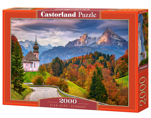 Castorland - Autumn in Bavarian Alps, Germany - 2000 Teile