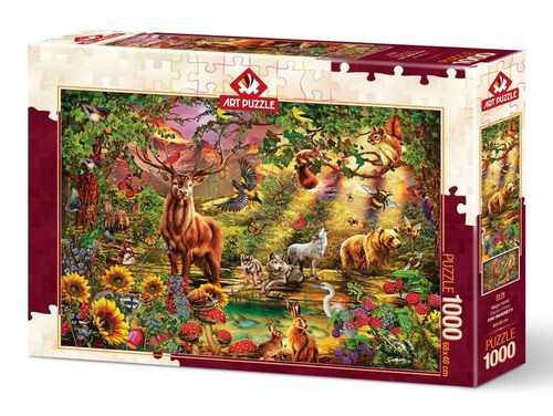 Art Puzzle - Magic Forest - 1000 Teile