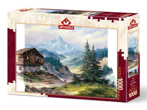 Art Puzzle - Green Valley - 1000 Teile