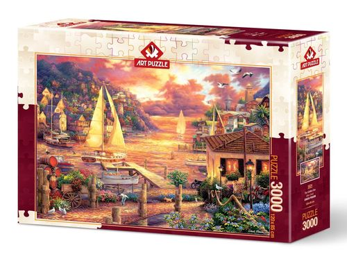 Art Puzzle - The Golden Sea - 3000 Teile